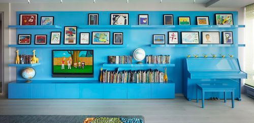 IncorporatednyBohemian-Apartment-Blue-Piano-Wall