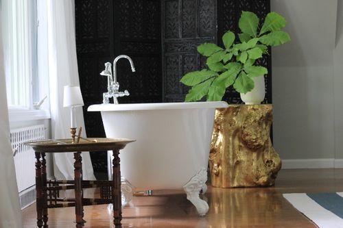 Clawfood tub gold
